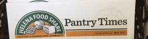 Helena Food Share Pantry Times Newsletter