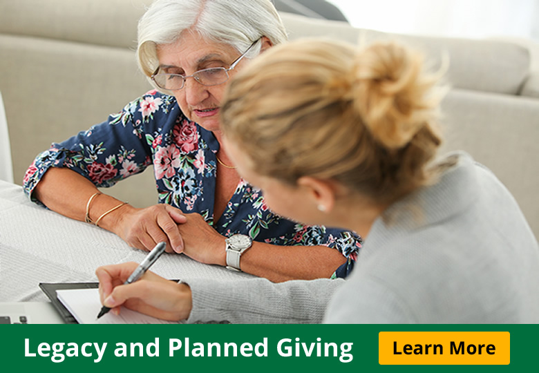Legacy and Planned Giving Ad