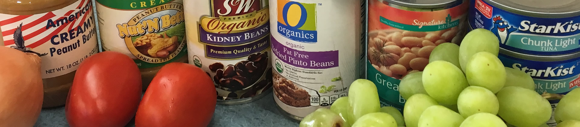 Photo of Canned Goods and Produce