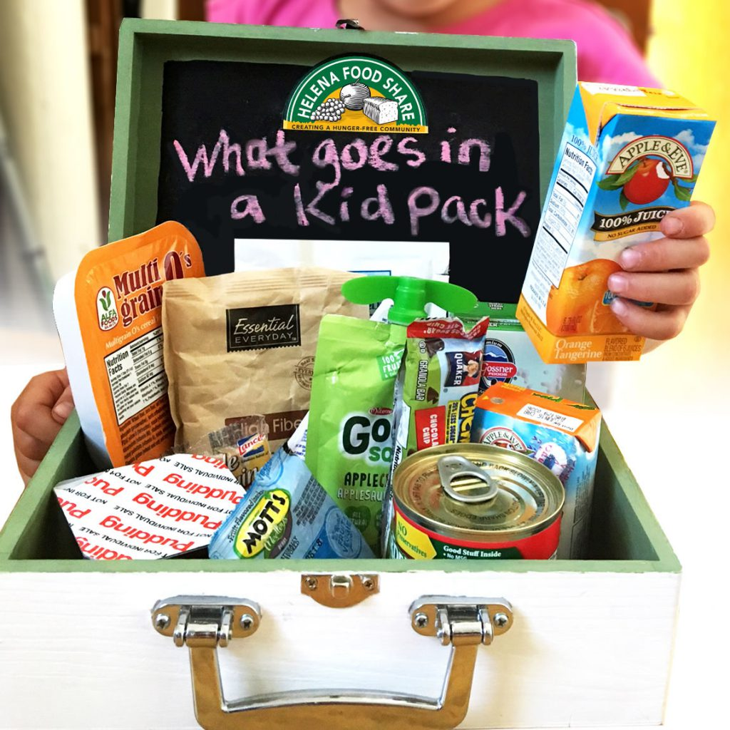 Helena Food Share Kid Packs