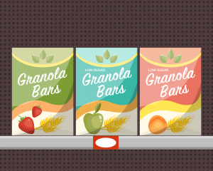 Donate Low-Sugar Granola Bars