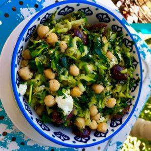 Zucchini Mediterranean Bowl