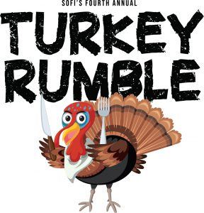 Sofi Turkey Rumble Poster 2020 Helena Foodshare