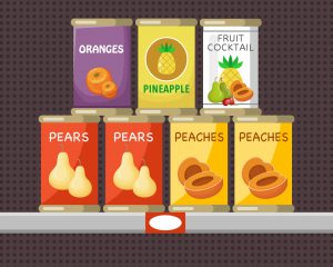 General Food Drive - Canned Fruit