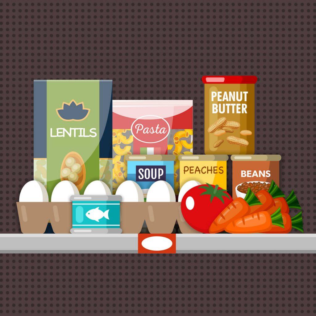 Kid Packs Virtual Food Drive Group