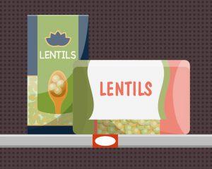 General Food Drive - Lentils