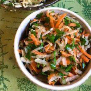 Carrot Jicama Salad