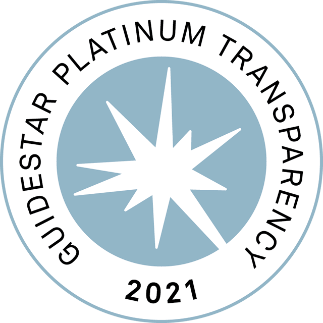 GuideStar Platinum Transparency Seal 2021