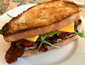 Bacon Tamato Sandwich