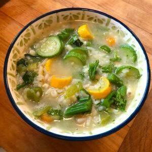Fresh Garden Soup